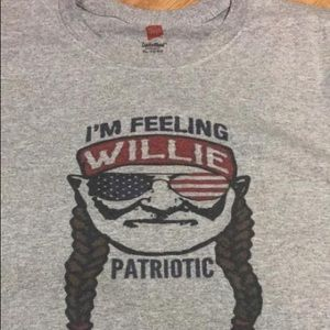 Other - Graphic tee Willie Patriotic